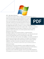 Evolucion de Los Sistemas Operativos Windows