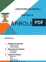 Tipos de Arboles en C