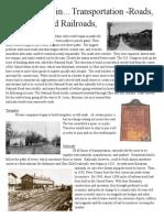 industrial revolution-land trans