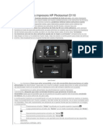 Como Resetear La Impresora HP Photosmart D110