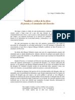 Análisis y Crítica de la Obra El Jurista y El Simulador del Derecho