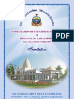 Invitation for Temple Consecration Ceremony_English