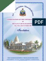 Invitation for Temple Consecration Ceremony_English