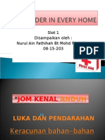 First Aider in Every Home - Slot 1