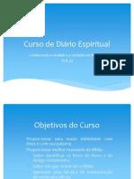 CURSO DE DIÁRIO ESPIRITUAL