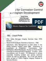 2010 Pigging for Corrosion Control WRGC Tempe