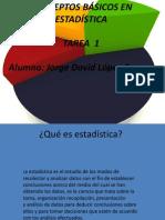 Conceptos Basicos en Estadistica