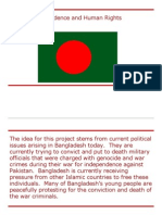 bengali independence and human rights
