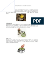 10 Tecnicas de Coccion Francesa
