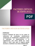 factores críticos de éxito (FCE),