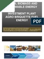 Investments Plant Brazil Biomass Agri Briquette Brazil
