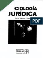 Sociología jurídica. -Márquez Piñero, Rafael - 2a ed. -- México - Trillas, 2006