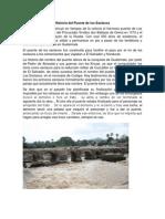 Historia Del Puente de Los Esclavos