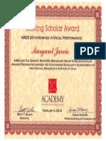 sterling scholar award