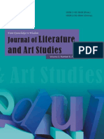 2013.8 Journal of Literature and Art Studies