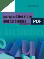 2013.8 Journal of Literature and Art Studies