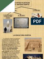 Las Artes Plasticas Del Antiguo Egipto