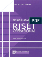 Pengantar Riset Operasional