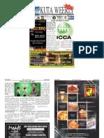 "Kuta Weekly-Edition 379 ""Bali's Premier Weekly Newspaper"""