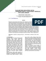 Aplikasi Metode Geolistrik Untuk Menentukan Cadangan Fosfat