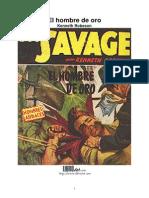 Kenneth Robeson - Doc Savage 98, El Hombre de Oro