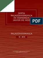LIBRO NUEVO PALAEOGRAFÍA