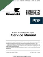 Fe120 Fe170 Fe250 Fe290 Fe350 Fe400 Kawasaki Service Repair Manual