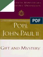 Don y Misterio_ en El Quincuagesimo Aniversario de Mi Sacerdocio - Juan Pablo II