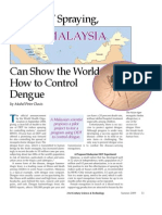21 Century Science and Technology- With DDT Spraying, Malaysia Can Show the World How to Control Dengue (www.mohdpeterdavis.com)