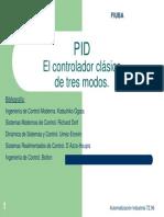 1- Controlador Clasico de Tres Modos PID