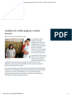 Analistas de crédito golpean a cliente morosa » Policial _ Los Andes » Noticias Puno Perú