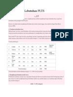 Menghitung Kebutuhan PLTS