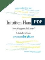 1 E-Intuition Handbook