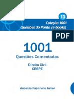 Livro 13 (Direito Civil) - Coleção 1001 Questões do Ponto - CESPE