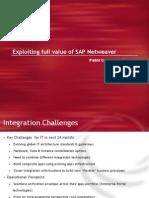 IDC Webinar - Netweaver