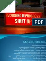 Musica Electronica Y grabación