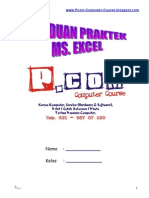 14593827 Panduan Praktek Ms Excel Siswa Pcom