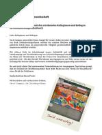 Solidaritätserklärung mit den streikenden Kolleginnen und Kollegen im Gebäudereinigerhandwerk