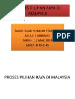 Proses Pilihan Raya Di Malaysia
