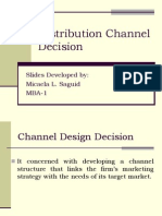 Distribution channel Decision