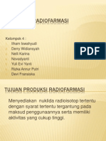 Produksi Radiofarmasi