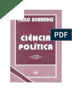 Paulo Bonavides - Ciência Politica