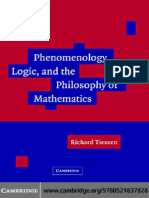 194673256 Phenomenology Logic Philosophy Mathematics