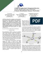 Bluetooth Based Smart Distributed Sensor Networks