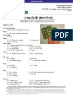 4-H Sewing QuietBook