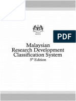 Malaysian (R&D) Classification System