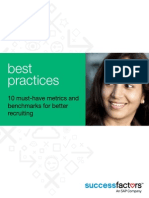 Best Practices 10 Must-have Metrics and Benchmarks for Better Recruiting