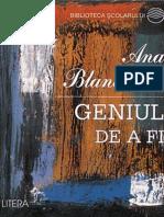 Blandiana Ana - Geniul de a Fi (Cartea)