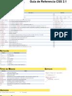 Guia pdf css