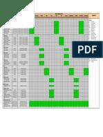 Enviro Site Inspections Schedule_2011